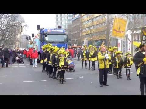 Karnevalsumzug Berlin Kurfürstendamm und Tauentzienstraße