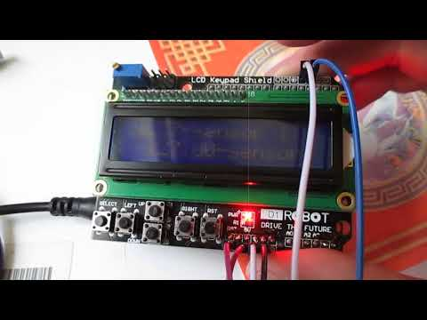 Цифровой термометр DS18B20 на ARDUINO