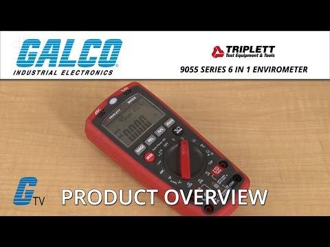 Triplett 9055 Series 6 in 1 EnviroMeter DMM
