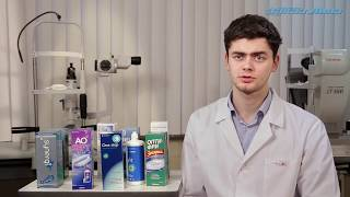 видео One Step пероксидная система для контактных линз