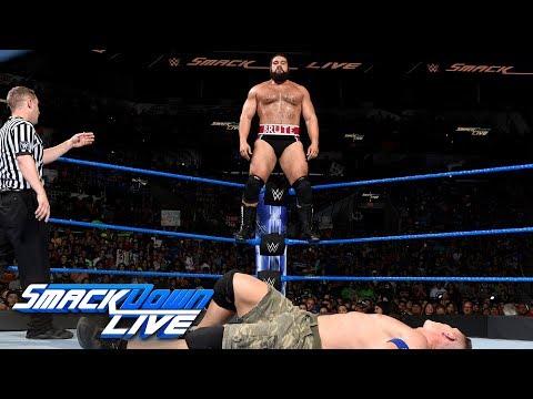 John Cena & AJ Styles vs. Kevin Owens & Rusev: SmackDown LIVE, July 11, 2017