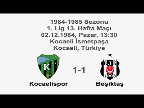 Kocaelispor 1-1 Beşiktaş 02.12.1984 - 1984-1985 1st League Matchday 13 + Before&Post-Match Comments | Farklı bir pencereden futbol
