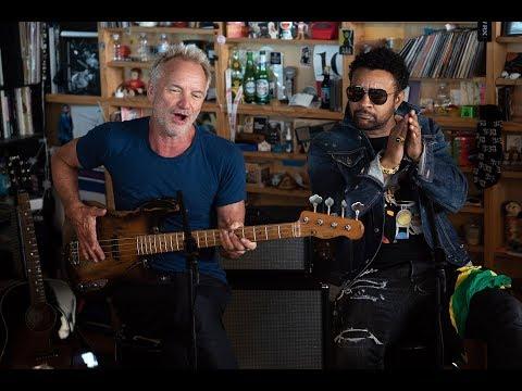 Sting And Shaggy: NPR Music Tiny Desk Concert
