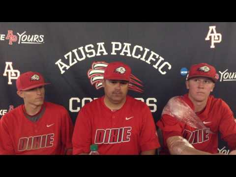 NCAA Division II Baseball West Regional (Game 5 Press Conference): Dixie State