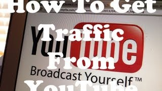 How To Drive Traffic To A Website From YouTube (YouTube Tip) #1 - A Link In The Description