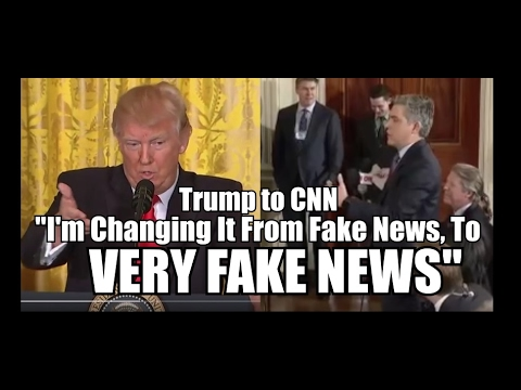 "Thumbnail: President TRUMP: CNN is ""Very Fake News"""