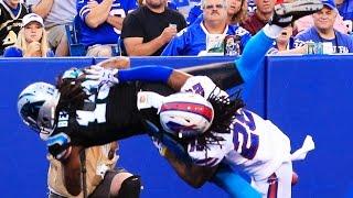 Kelvin Benjamin falling backwards touchdown catch - 2015 NFL Preseason Week 1 highlight