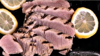 Seared Ahi Tuna With Orange Seseame Ginger Marinade On Dcs Grill