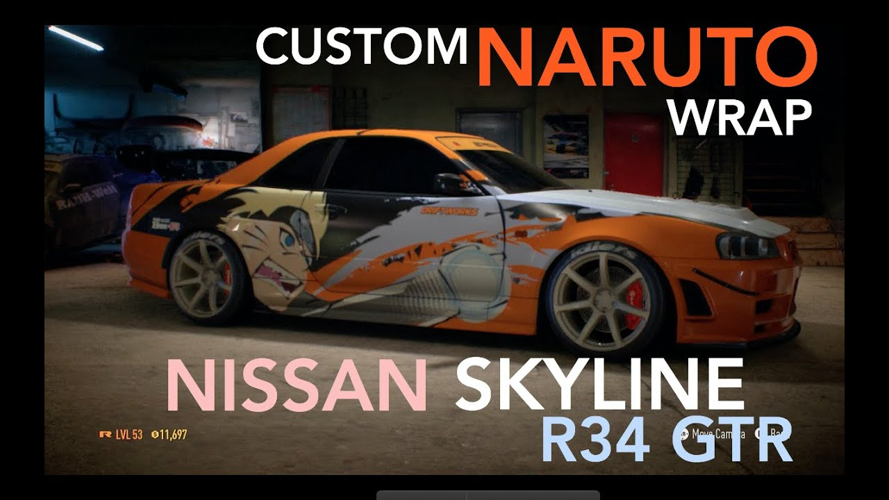 Need For Speed 2015 EPIC NARUTO Nissan Skyline R34 GTR