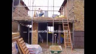 How To Build A Two Storey Side Extension In Less Than Thirteen Weeks