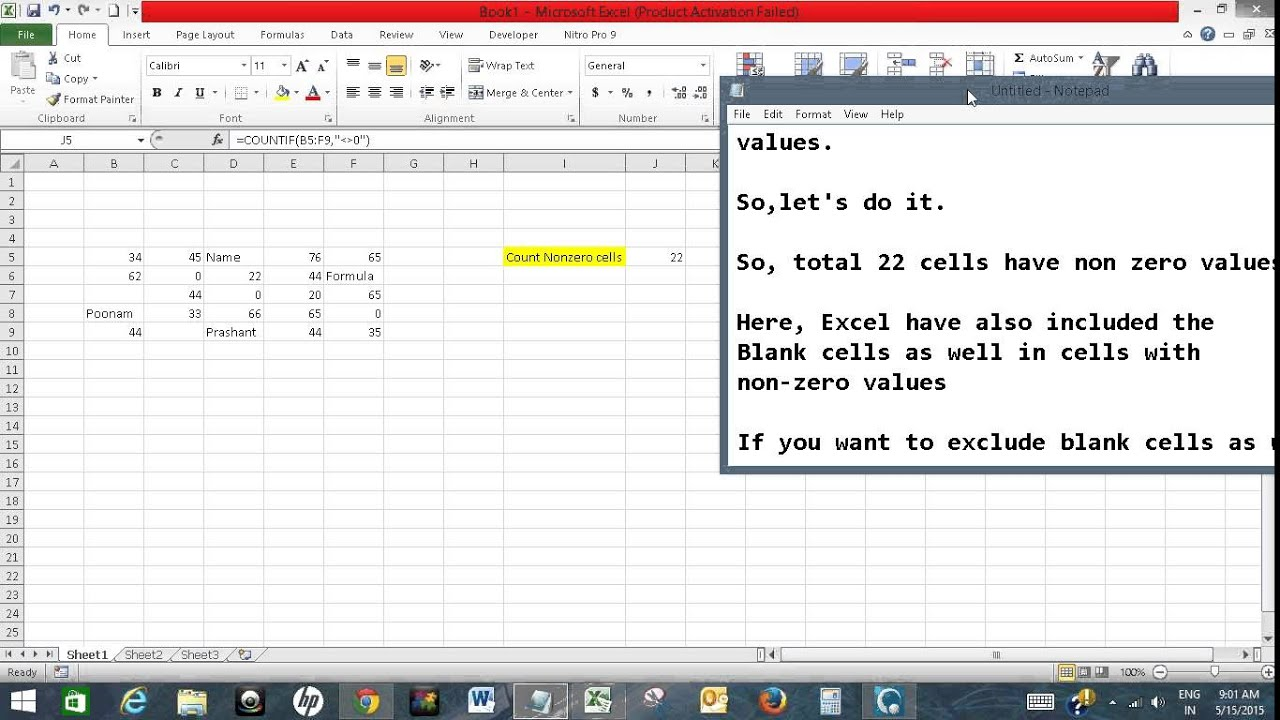 how to count letters in excel excel count cell with numbers sum count average 22266