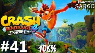 Zagrajmy w Crash Bandicoot 4: Najwyższy Czas (106%) odc. 41 - Zakończenie za 100% gry