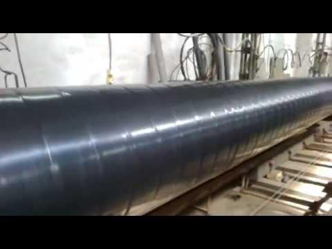 Изоляция труб Дн530мм битум-полимерной лентой - весьма усилений тип ПрАТ Центр трубоізоляція