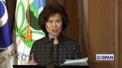 Secretary Chao on California Fuel Economy Standards