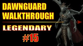 Skyrim Dawnguard Walkthrough #15, Lost To The Ages (2/4) Deep Folk Crossing, Dwarven Storeroom