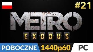 Metro Exodus PL  #21 Poboczne (odc.21) ❄️ Gniazdo snajpera (Można pominąć cz.2 - opis)