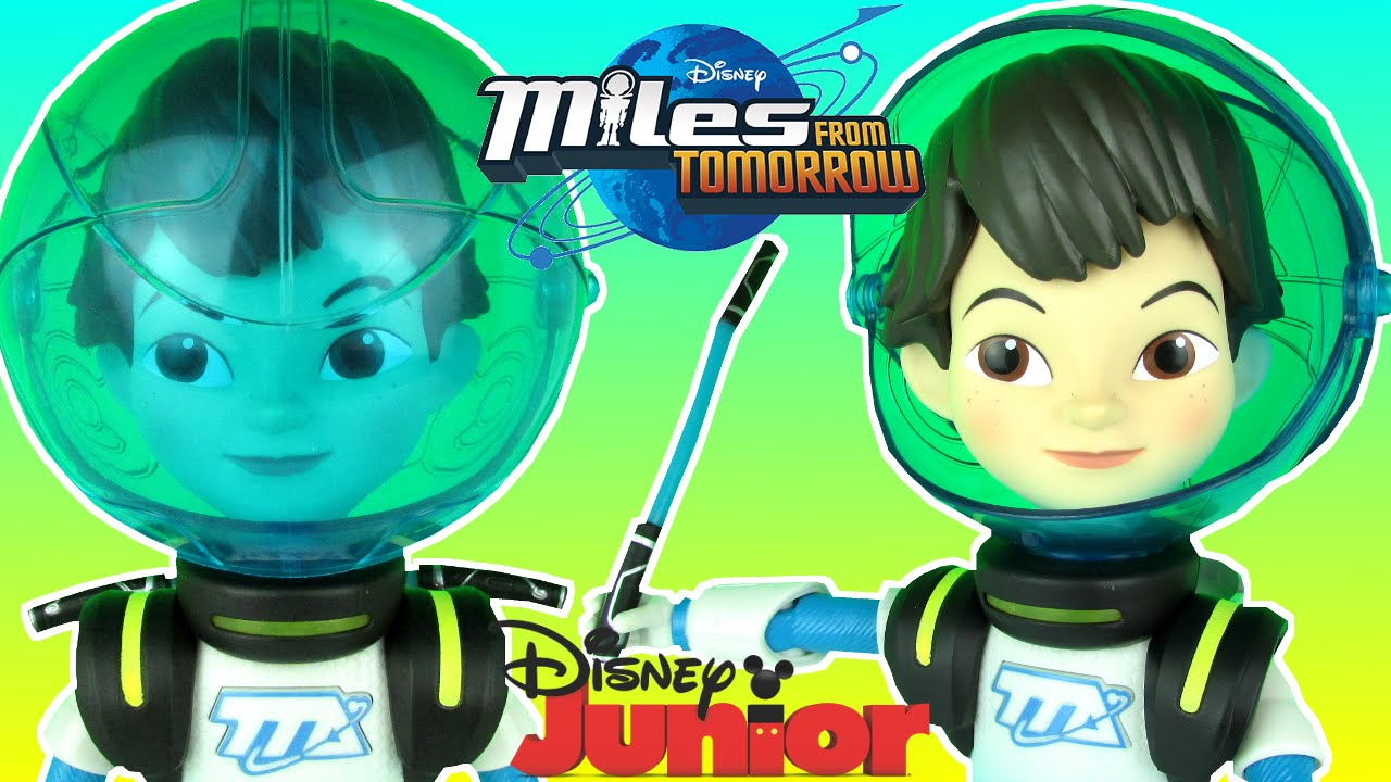 Disney Junior Miles From Tomorrowland Talking Miles Disney Store Exclusive Toy Review Unboxing Youtube