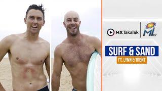 Surfing with Trent \u0026 Lynn   ट्रेंट और लिन की सर्फ़िंग   IPL 2021