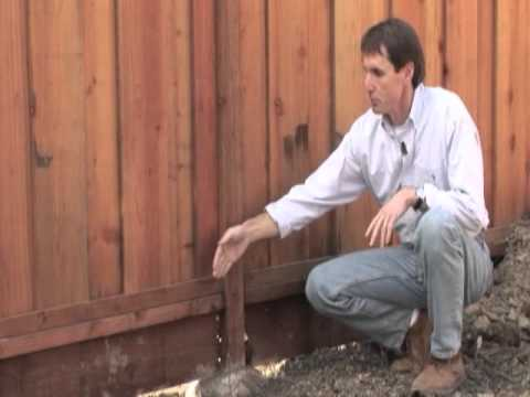 How To Build A Good Neighbor Fence Youtube