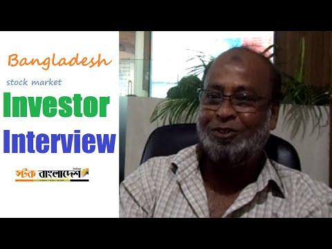 Stock Market Investor Interview [Bangladesh] | Motlab Hossain | 24.09.2016