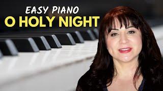 O Holy Night Easy Piano Tutorial/Sheet Music