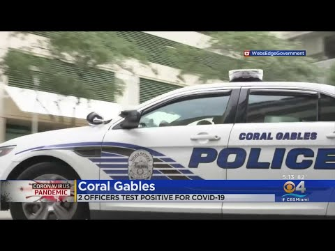 Coral Gables Police Officers Test Positive For Coronavirus