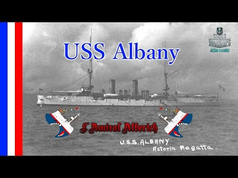 World Of Warships - USS Albany - Brasilia gooooal ! [FR]