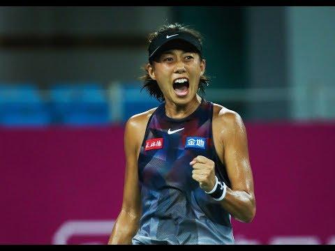 2017 Guangzhou Women's Open Semifinals | Zhang Shuai vs Evgeniya Rodina  | WTA Highlights