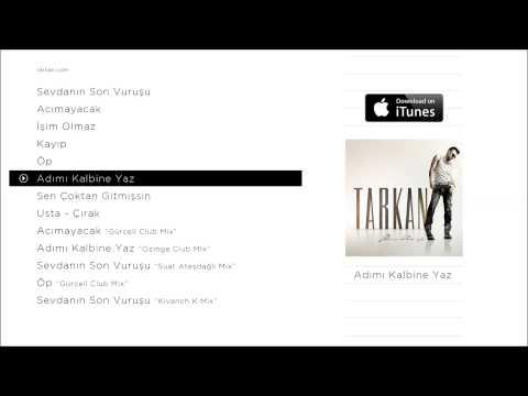 TARKAN - Adımı Kalbine Yaz (Official Audio)