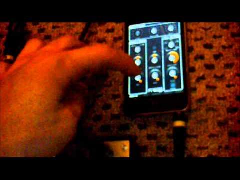 Korg Volca Bass, Monotron Delay and Moog Filtatron iOS app