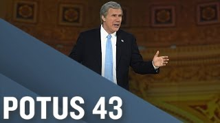 Not The White House Correspondents' Dinner, Pt. 7: Special Guest George W. Bush by : Full Frontal with Samantha Bee