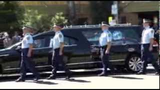 Funeral for Retired NSW Police Commissioner Cecil Roy Abbott, AO, QPM
