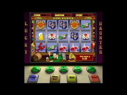 Игровой автомат Lucky Haunter - обзор аппарата Пробки, Крышки от производителя Igrosoft