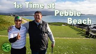 My First Time Playing Golf at Pebble Beach