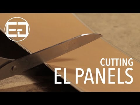 Guide to Cutting EL Panels - Ellumiglow