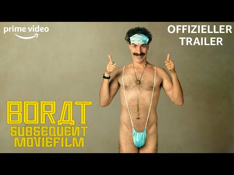 Borat: Anschluss-Moviefilm | Offizieller Trailer | Prime Video DE