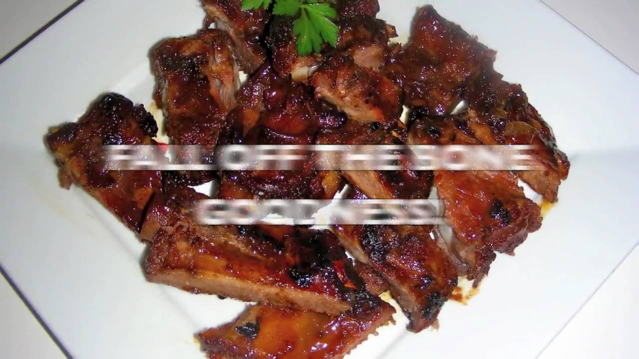 Chinese BBQ Spare Ribs Recipe - Fall Off The Bone Goodness! - YouTube