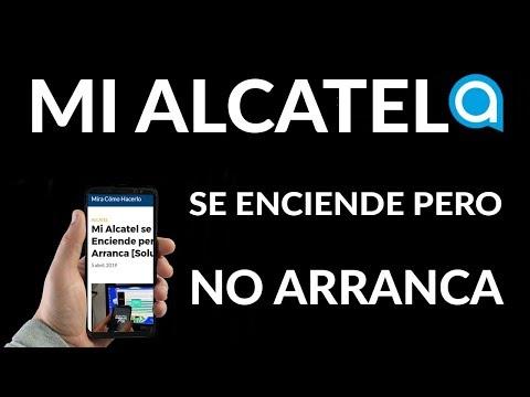 Mi Alcatel se Enciende pero NO Arranca (se Queda en el Logo)