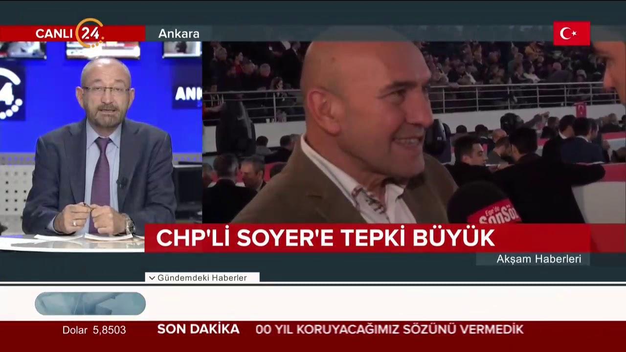 CHP'li Soyer'e tepki büyük