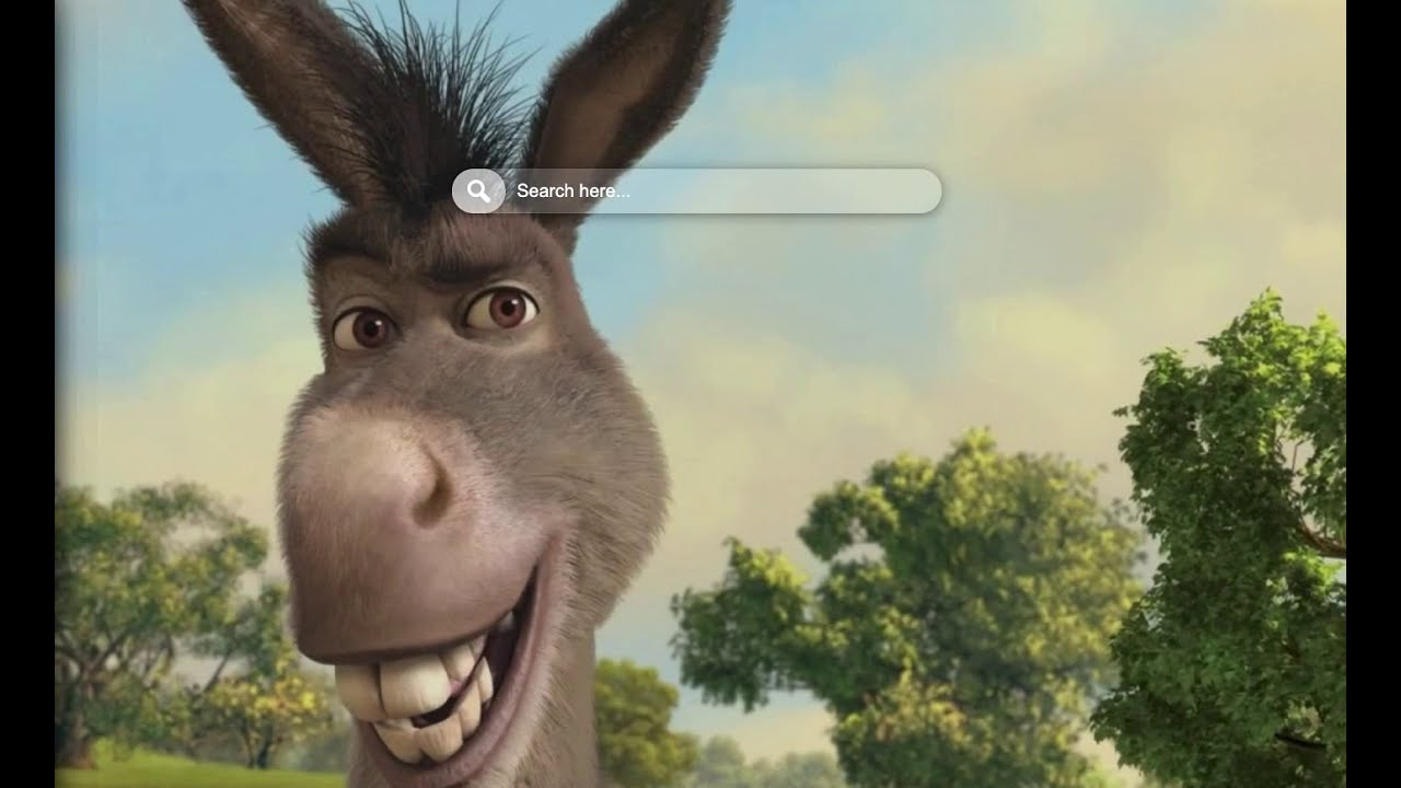Shrek Donkey Wallpaper Hd