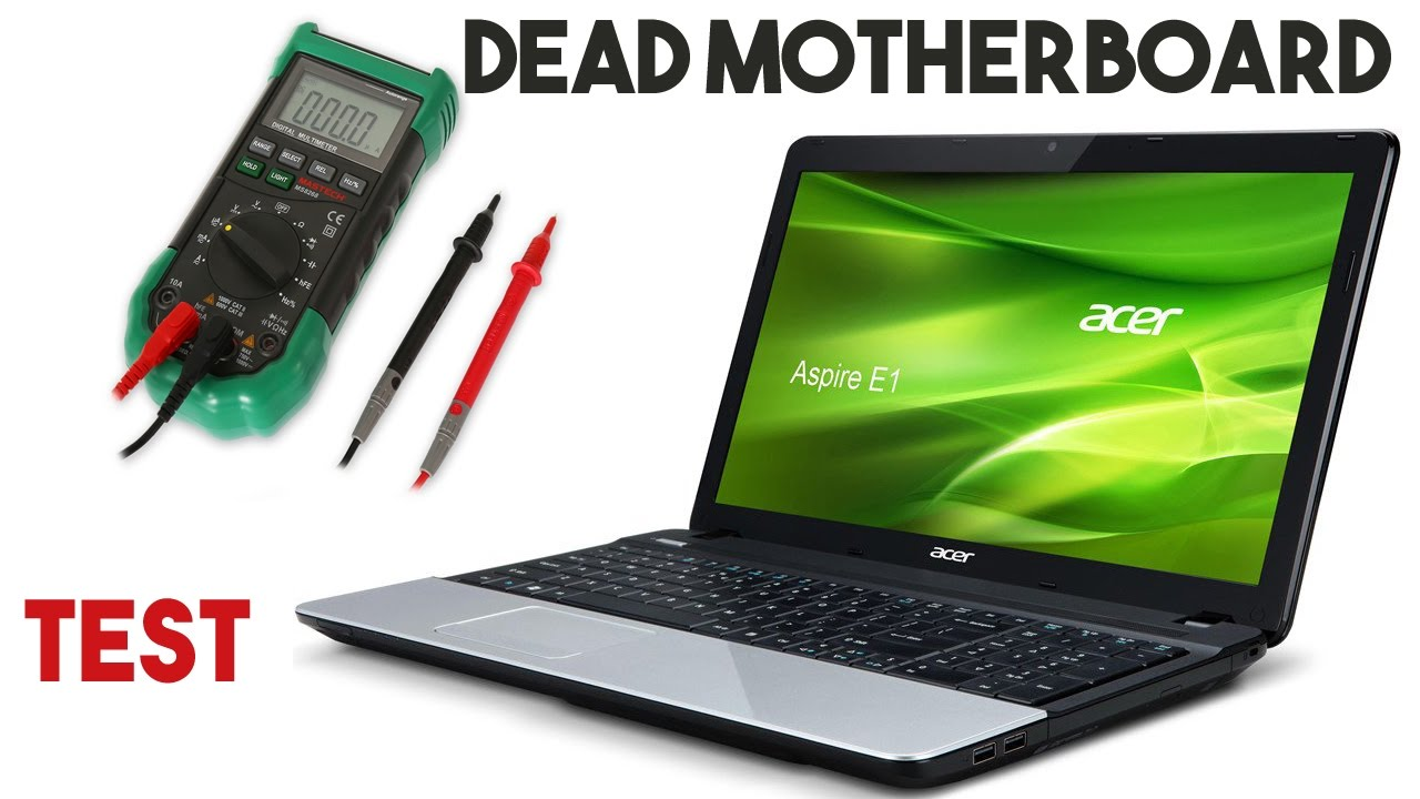 Laptop not tuning on no led no light no signs of life | How to test a dead  laptop motherboard