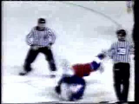 Winnipeg Jets 1994-95 Fight Video