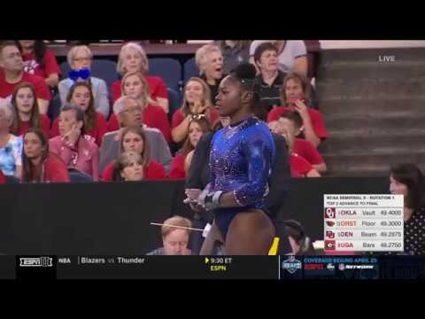 Gymnast Alicia Boren Already Won 1st Place on Floor, but She Also Deserves Gold For Her Dance Moves
