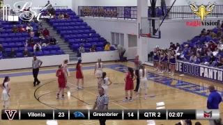 Girls Basketball: Vilonia @ Greenbrier 01/15/19