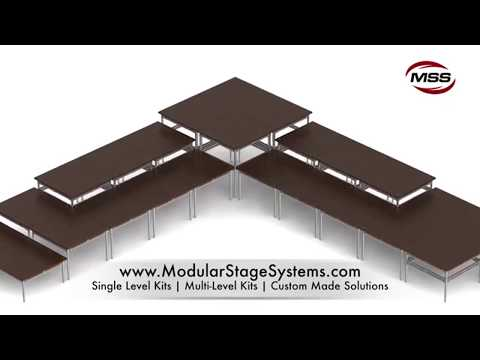 Modular Stage Systems – the ideal choice