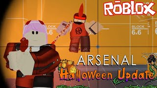 Arsenal Roblox - Halloween New Update New Map Gameplay Part 1