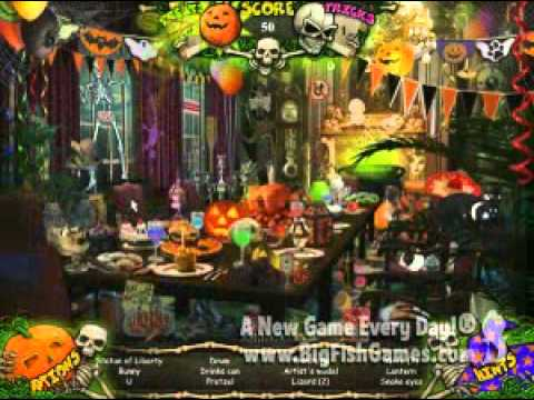 Halloween: Trick or Treat / Hidden Objects Game / Halloween - YouTube