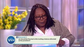 'Julius Caesar' Causes Furor Over Trump Lookalike | The View