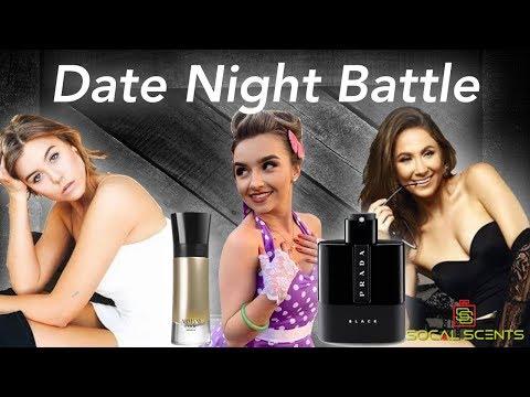 "Date Night Fragrance Battle ""Prada Black Vs Armani Code Absolu""   Compliment Test"