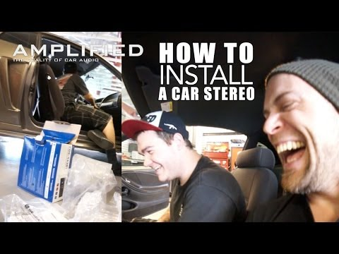 How to Install an Alpine Car Stereo - Amplified #157